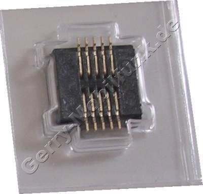 Display-Konnektor Nokia 6100 Buchse auf der Platine in die der Stecker vom Display eingesteckt wird