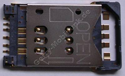 Simkartenleser Nokia N80 Sim-Konnektor mit Einschubklappe