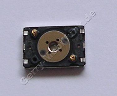 Lautsprecher original Nokia N900 Hörkapsel für die normale Gesprächsübertragung ( sitzt im Displayrahmen ) kleiner rechteckiger Lautsprecher
