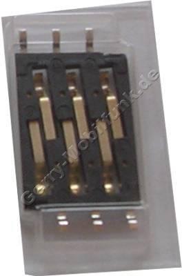 SIM Kartenleser Nokia 6510 original Sim Konnektor, Lötbauteil der Platine