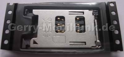 Sim Konnektor Nokia E60 original SMD Kartenleser der Simkarte Lötbauteil