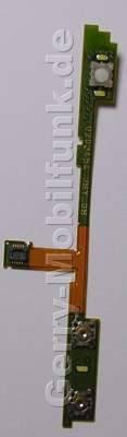 Seitentasten Nokia N78 original Flexmodul der Seitentasten in der Unterschale