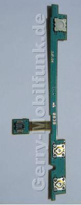 Seitliches Flexkabel Nokia N79 original seitliches Flachbandkabel mit SMD Schaltern für Lautstärke und Kamerafunktion, Auslöser, Taster