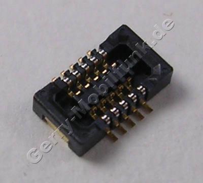 SMD Konnektor 2x5 polig Nokia 5233 original Buchse der Platine B2B 2X5 F P0.4 Anschlußbuchse vom Touchpanel