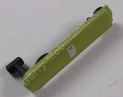 Abdeckung grün Simkarte Nokia N8 original Verschluß vom Simkarten Schacht green