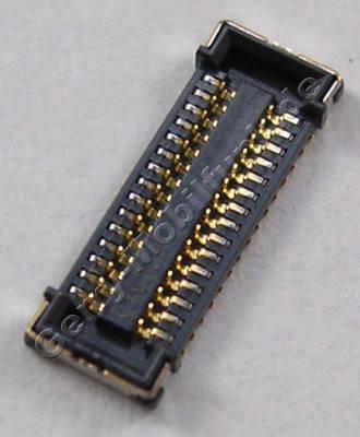 Board to Board Konnektor Nokia Lumia 720 original SMD Konnektor der Hauptplatine (CONN BTB 2*15 F P0.4 30V 0.3A H0.8mm)