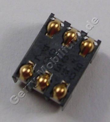 Simkartenleser Nokia C6-00 original Konnektor Simkarte 6 polig