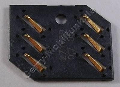 Simkartenleser Nokia X3-02 original Sim Konnektor der Platine, Lötbauteil 2 x 3Pol