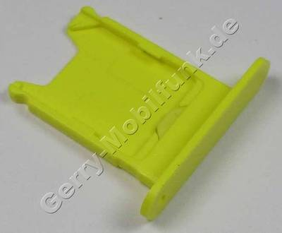 Simkartenhalter gelb Nokia Lumia 920 original Sim door 2 yellow, Halter Simkarte