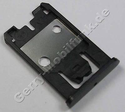 Simkartenhalter grau Nokia Lumia 925 original Halter der Micro Simkarte grey