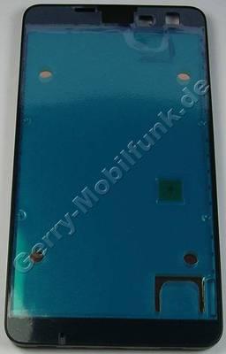 Rahmen Oberschale Nokia Lumia 625 original A-cover Assy, Gehäuserahmen in den das Display eingelegt und die Displayscheibe ( Touchpanel ) eingeklebt wird. Der Kleber für die Displayscheibe ist ab Werk im Rahmen enthalten.