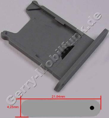 Simkartenhalter grau Nokia Lumia 920 original Sim door 2 grey, Halter Simkarte ( Achtung, dieser Simkratenhalter ist für Geräte aus der 1. Serie und daher minimal kleiner )