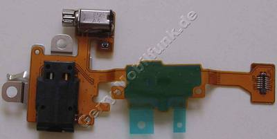 Flexkabel mit Vibrationsmotor und Headsetbuchse Nokia Lumia 630 original CARE TOP FLEX ASSEMBLY