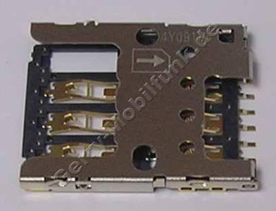 Simkartenleser Microsoft Lumia 530 original Sim Konnektor, CONN Mini UICC SIM SM 6P pushpull
