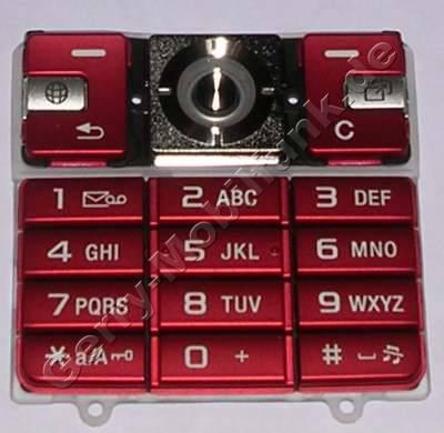 Tastenmatte SonyEricsson K610i rot original Ersatzteil Tastatur